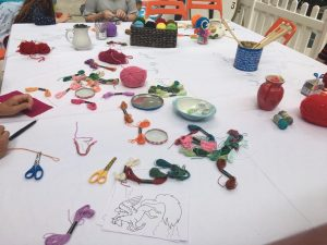 Summer crafts at Quadrant Shopping