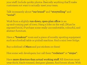 How to start a creative agency (The Poke)