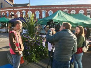 ITV Coast & Country visit Uplands Market