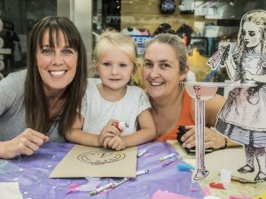 Getting crafty in a shopping centre
